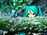 森で見かけた謎の生き物