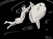 海底_マンボウ