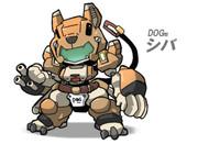 DOG型 シバ