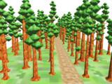 ドットモデルにいいかもしんないステージ②巨大樹の森