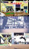 【MMDステージ配布】放送室ステージ