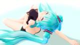 【MMD】愛しの毛玉、夏だけど…【第一回「肩の上ウフ!!」選手権】