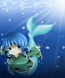 淡水で力の増す程度の能力のわかさぎ姫
