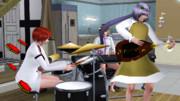【シム東方】バンド付喪神【sims3】
