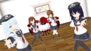 【MMD艦これ】第六駆逐隊は可愛い!