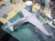 【フライトグライド】共和国重戦闘機トラギア【製作中02】