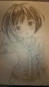 葉月柚子の模写