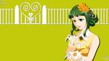 【HD背景】GUMI と 花(8月用)