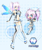 Nanoko Digitrevxのマスコット