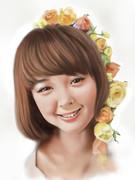 玉城ティナさんを描いてみた2014。