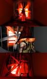 【MMD】アーケード版三角頭【改造モデル】