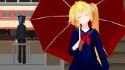 雨の日がお嫌いな様でw