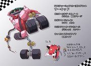 オリメダ:F1カー型メダロット