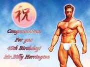 Happy Birthday!! Billy Herrington!!