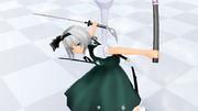 魂魄妖夢用 はずせる鞘と剣セット