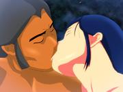 二人は幸せなキスをして散華