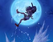 月夜に跳ぶ 艦これ 多摩