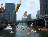 下北沢環境保護キャンペーン用ポスター