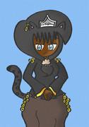 動物占いが黒ひょう姫!