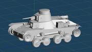 九五式軽戦車の4