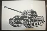 【切り絵】 戦車