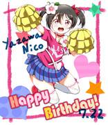 にこちゃん、誕生日おめでとう!