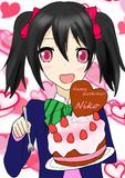 【ペンタブ】ラブライブ! 矢沢にこ  誕生日おめでとう!