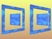 立体視画像4「四角」