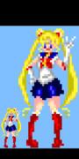 【ドット絵】美少女戦士セーラームーン