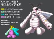 蚕蛾型メダロット