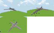 Minecraft Tu-22M 再現
