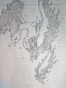 ファイヤー描いてみた。