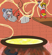 ネズミっていったらチーズだよね!