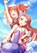 【アイマス】海!!