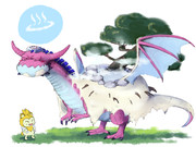 温泉ドラゴン