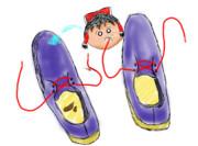 お気に入りの靴ゆっくり
