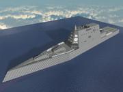 【MineCraft】最新鋭のミサイル駆逐艦DDG-1000