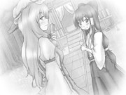 紫と靈夢(エミル)
