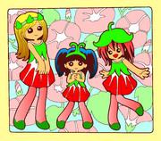 アサガオ三姉妹
