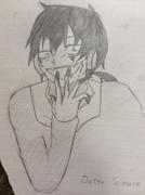 【鉛筆シリーズその3】クロハを描いてみた