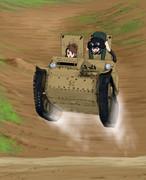 CV33のカリ城ジャンプw