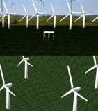 wind turbine fields stage