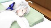 【MMD嫁の寝顔選手権】休みの日の朝