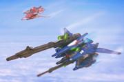 【ガンプラ】新型可変機大気圏内飛行試験