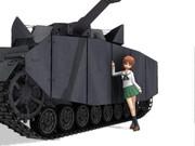 西住みほとIV号戦車