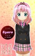セミロングシャロちゃん (ピンク髪バージョン)