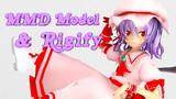 MMD Model × Rigify 001