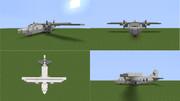 【Minecraft】小型輸送機 MBB Do137