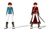 少年剣士・騎士風のキャラ「アレント」 ver1.2