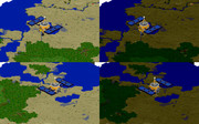 【Minecraft】探査機「はやぶさ」 MCmap【レゴブロック風】